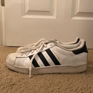 Adidas Women's Originals Superstar Shoes Size 8.5